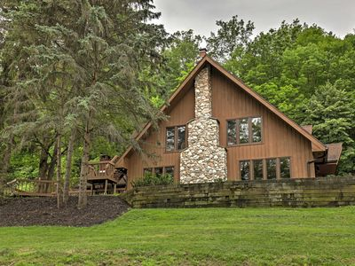 Photo for Luxury Canandaigua Chalet w/ Decks & Mtn Views!