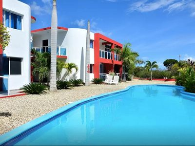 Photo for Inexpensive Guest-friendly Condo, With Pool And Internet, In Downtown Sosua