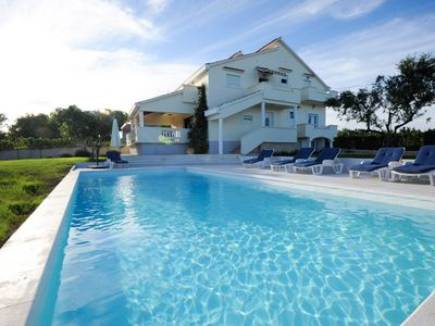 Photo for Lovely Villa Matea 4+2, in Dalmatia, with a Pool