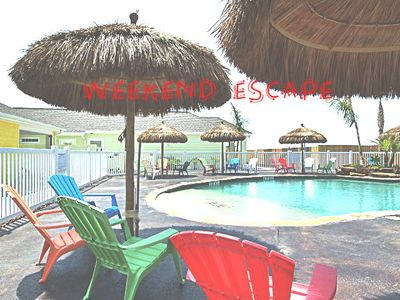 Photo for Pirate's Bay Townhome Community, POOLSIDE, Free WiFi, BBQ OutDoor Kitchen