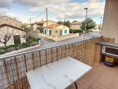 Photo for BEAUTIFUL APPT T2 CABIN-LARGE BALCONY-A 200 M FROM THE BEACH-LOWER SAINT PIERRE LA MER