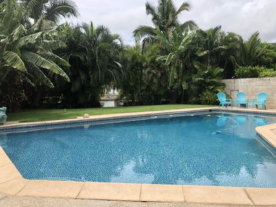 Photo for Marina Front Home with Large Pool