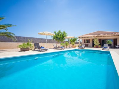 Photo for CAN MELIS - Villa with private pool in Campanet.