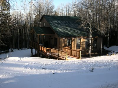 Photo for Mountain Cabin, 4 Bedrooms, 2 Baths, Near Golf Course & 5 Minutes To Ski Area