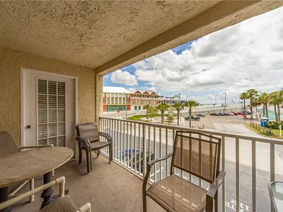 Photo for John's Pass Views From This Corner Unit in Beach Front Complex - Free WiFi - Beach Place #101