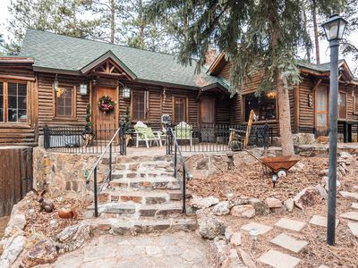 Photo for ★Log Haven Lodge★Red Rocks★Game Room★Easy Denver Access★