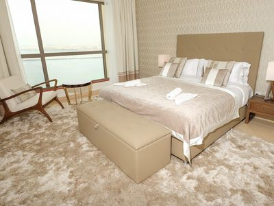 Photo for Incredible Sea View holiday rental 2BR on JBR