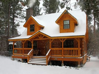 Photo for Warm,Cozy,Luxurious Big Bear Holiday Cabin Sleeps 8-10