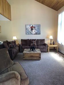 Photo for Pet friendly, newly updated, 2 bedroom and a loft woodlands unit