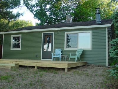 Photo for Cozy Little Cottage on All-Sports, Beautiful and Quiet Pickerel Lake.
