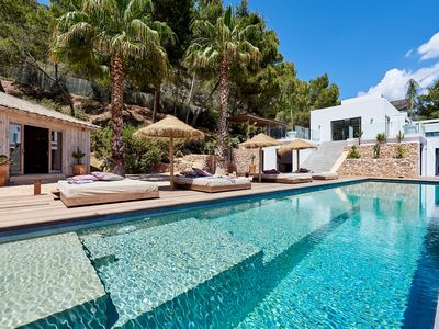 Photo for Modern luxury villa with stunning views with pool and in an  excellent location