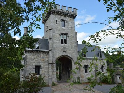 Photo for Unusual cottage! Chateau caretaker's lodge on the river, between Liège and Theux