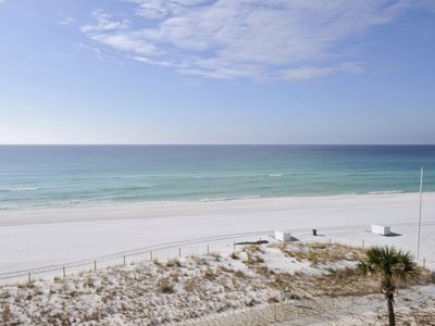 Your personal view from the private balcony of your vacation rental!