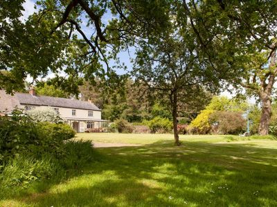 Photo for Gogwell: Unique Devon house with heated pool sleeps 12 +