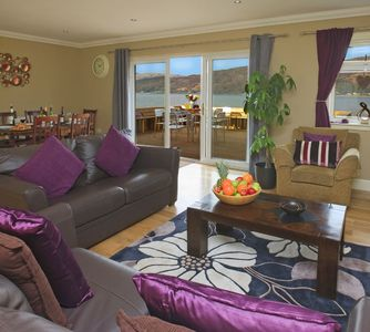 Photo for Glenachulish Bay Cottage has a fantastic location right beside the sea with fantastic uninterrupted