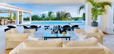 Villa La Favorita  -  Ocean View - Located in  Exquisite Terres Basses with Private Pool