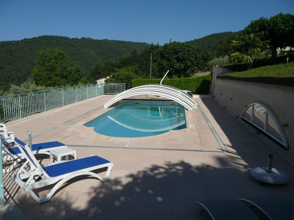 Domaine Belvezet South Ardèche Planzolles + Private Pool And Sheltered.  Planzolles Apartment Rental