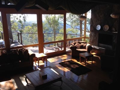 Lounge and valley deck
