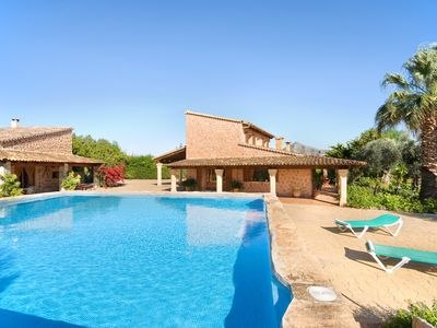 Photo for Ses Comptesses elegant villa with pool and good views well situated 194