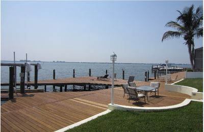 Huge boat dock with lift  for your yacht or rented boat