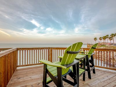 Photo for NEW LISTING! Bay view home w/ multiple decks & beach access - close to town!