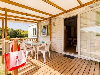 Photo for Camping Le Petit Trianon **** - Mobile Home 4 Rooms 6 People Confort