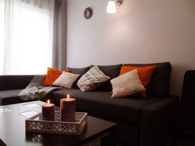 Photo for San José 1A apartment in Torre del Mar with WiFi, air conditioning, balcony & lift.