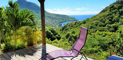 Photo for ❤F2 luxury, sea view, 2 min from the beaches, calm nature, wifi, air conditioning