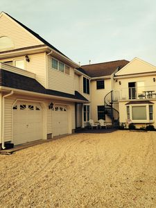 Photo for Upstairs Unit -- No Streets To Cross To Get To The Beach!