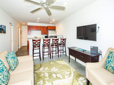 Photo for Luxe Condo w/Kitchen Perks, WiFi, Flat Screen, Den, Lanai–Kauai Kailani K219
