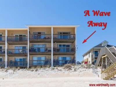 Photo for A Wave Away - OCEANFRONT Condo, Sleeps 6!!