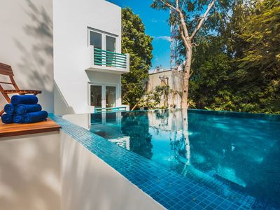 Photo for Relaxing 5BR Villa Playcar! Infinity Pool!! A/C!!