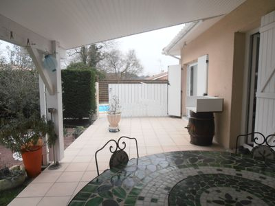 Photo for house with pool 20 minutes from the dunes of Pyla and Arcachon 60 km CapFerret