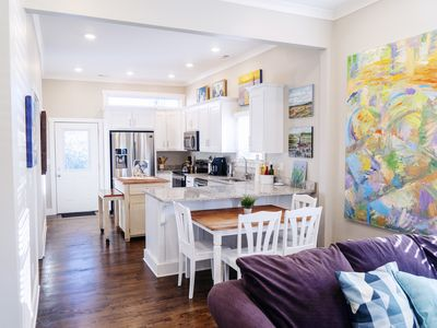 Photo for Art-Infused Home Minutes From Downtown