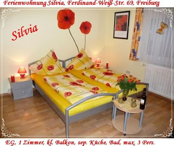 Photo for Apartment in Freiburg, Old Town 1.5 km, Main Station 1.0 km, University Hospital 1.0 km, WLAN