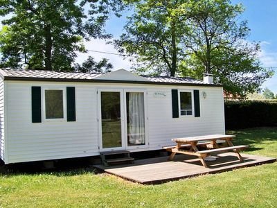Photo for Camping Les Peupliers *** - Mobile home Cottage 3 Rooms 4/5 People