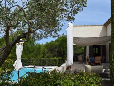 Photo for #Beautiful villa for 8 persons, swimming pool and nice garden on Pont Royal