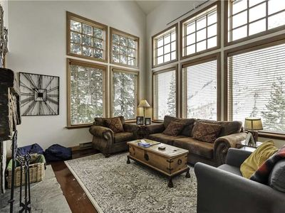 Photo for Comfortable condo sleeps 6 people, Ski in/out to Snowbird, Free shuttle to Alta, Private dry sauna