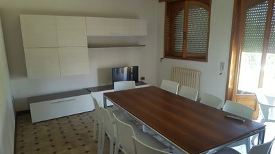 Photo for Apartments in Villa a few steps from the sea in Baia Verde 8/12/20 beds