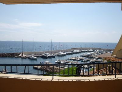 Photo for Rental  moderne 2 bedroom apartment near the pool and beach with lovely seaview Port la Galere