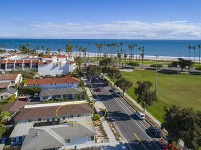 Photo for 1/2 block to East Beach and short walk to Downtown!
