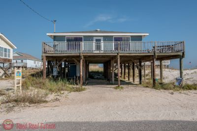 Photo for Jolievie - Cute 2 Bedroom Gulf Front Private Beach Home with amazing open decks