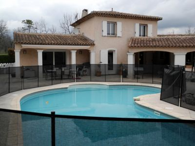 Photo for Charming Three Bedroom Villa with an annex in the Provencal village of Callian