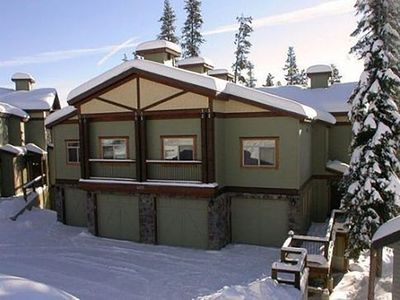 Photo for Spectacular 4-Bedroom True Ski-In/Ski-Out Family-Friendly Chalet with Hot Tub