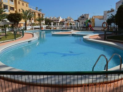 Photo for Fantastic 4 bedroom Townhouse close to the Beach with a Communal Swimming Pool