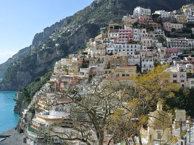 Photo for Apartment Mare B with Sea View, Air Conditioning Positano Center