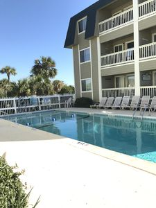 Photo for Affordable Front Beach! 2 b/2b seconds to beach, pool, shopping and nightlife!