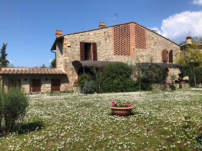 Photo for MANUELA'S HOUSE, Chianti Villa JACUZZI between Florence and San Gimignano