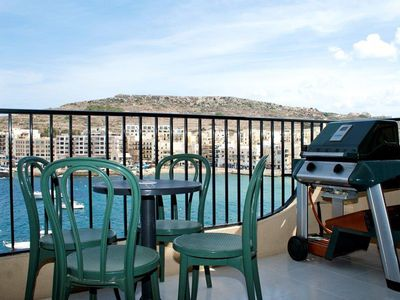 Photo for Theos Airconditioned Seafront Corner Apartment