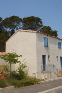 Photo for Two/three bed home on residential site on the edge of medieval Cite of Pézenas